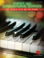 First 50 Christmas Songs You Should Play on the Piano Sheet Music Easy 000172041