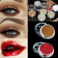 New Glitter Beauty Eyes Lip Shimmer Monochrome Shining Face Makeup Powder US