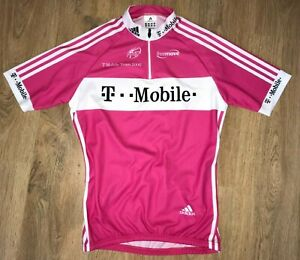 T-Mobile Team 2006 Adidas Uci Pink cycling jersey size M - Excellent condition