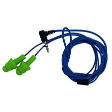 Green/Blue Workinbuds EARBUD EARPLUG HEADPHONES Comfortable 30 day guarantee