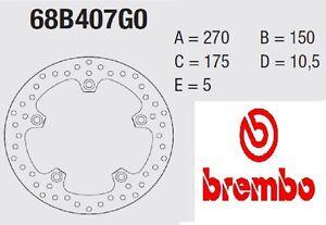 Disque Frein Brembo Série Or Avant Kymco 600 C 600 Sport 12>