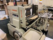 The Miehle Vertical Letter Press