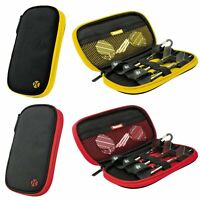 Harrows Z400 Dart Case Dart Wallet Holds Fully Assembled Darts Red or Yellow