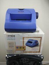Xyron create a sticker Model 500 Blue