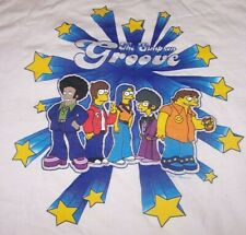 """New listing Vtg 2003 The Simpsons """"Groove"""" T-Shirt L White"""