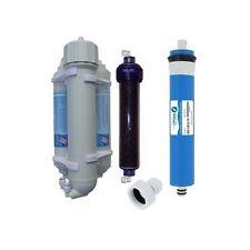 Osmoseur aquarium 100 GPD 380 l/j et filtre de déionisation