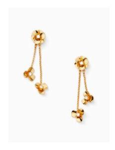 KATE SPADE Shine On Flower Ear Jacket In Gold item #WBRUF791