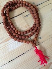 RUDRAKSHA YOGI 108 MALA PRAYER BEADS BUDDHISM HINDUISM JAPA MEDITATION RELIGION
