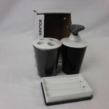 Ikea De Plástico Blanco Accesorios De Baño Ducha organizadores Ventosa fácil de arreglar