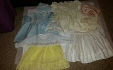 Lot Of Vintage  Assorted Baby Infant Chiffon? Dresses + More! #3
