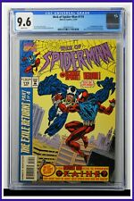 Web Of Spider-Man #119 CGC Graded 9.6 Marvel 1994 White Pages Comic Book.