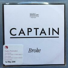 Captain - Broke - Poly Sleeve - CD Promo - (CBX342)