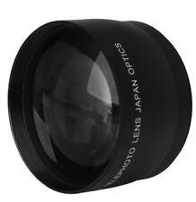 High Definition 52mm 2X Telephoto Lens For Nikon Sony Canon DSLR Camera
