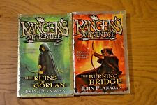 Two Rangers Apprentice; John Flanagan; Ruins of Gorlan and The Burning Bridge