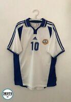 FINLAND 2000/02 Litmanen Home Adidas Football Shirt L Mens Vintage Soccer Jersey