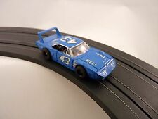 TYCO 25002  HP7 CAR SUPERBIRD # 43 BLUE  SLOT CAR 1/EA