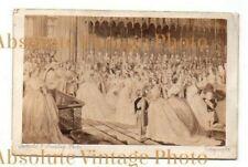 CARTE DE VISITE QUEEN VICTORIA & ALBERT WEDDING LEOPOLD F. MANLEY VINTAGE C.1860