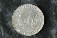 20 Lunare 1969 mit Zertifikat 1000er Silber,Münzkapsel,24g