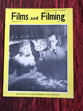 FILMS AND FILMING - UK MOVIE MAGAZINE - FEB 1959 - BETTE DAVIS - ANTHONY ASQUITH