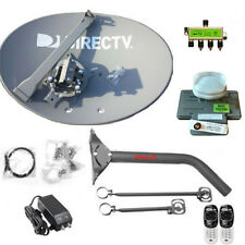 COMPLETE AT/&T HD DISH 3D2 RB REVERSE BAND LNB  //SWM //8 WAY NEW 4K DIRECTV