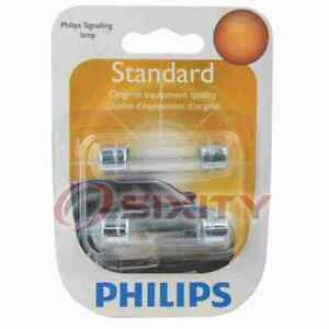 Philips Engine Compartment Light Bulb for Pontiac Tempest 1991 Electrical wt