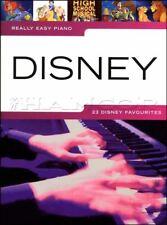Really Easy Piano Disney Sheet Music Book Toy Story Aladdin Tarzan Enchanted