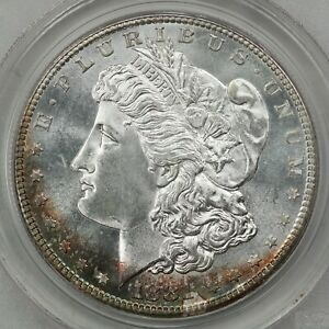 1881-S Morgan Silver Dollar, PCGS MS66 CAC OGH, Old Green Holder, Slight Toning!