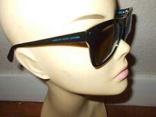 MARC BY MARC JACOBS MMJ 432/S 7ZR3U Black/Blue Frame Brown Lenses Sunglasses