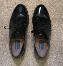 Bostonian Classics Oxford Shoes Men's Size 9.5M Black Cap Toe Dress