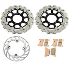 Gold Full Set Front Rear Brake Disc Rotors for Honda CBR1000RR CBR RR 1000 06 07