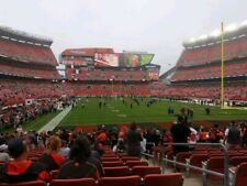 2 tickets Cleveland Browns vs Denver Broncos sect 145 row 15 10/21/21 THUR NIGHT