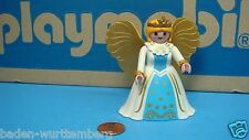 Playmobil christkind angel white blue dress figure geobra chritsmas time 157