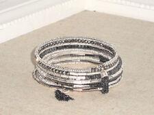 Stella & Dot Celine Wrap Silver Bracelet - New! Gorgeous!