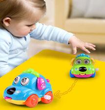 Wind-up Clockwork Cute Cartoon Car Toys Gift For Kids Children Baby
