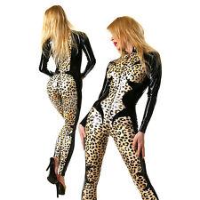 Latex Catsuit LEO, Gummi Rubber Bodysuit (optional color and size)