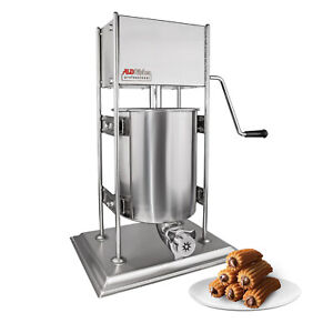 ALDKitchen Churro Maker | Vertical Type | Stainless Steel | 10L | Manual Control