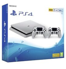 Sony PLAYSTATION 4 con controller 2, 500 GB-ARGENTO