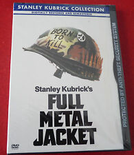 New DVD Movie War Classic Full Metal Jacket ! 1987 Original Version