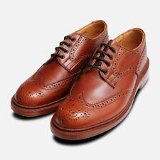 Trickers Anne Ladies Brown Brogue Shoes