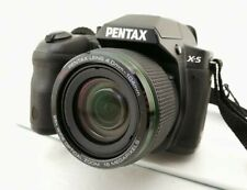 Pentax X-5 digital bridge camera, DSLR style, 16mp 26x zoom, case included