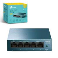 TP-Link LS105G 5-Port Network Switch Desktop/Wallmount Gigabit Ethernet Splitter