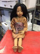 Philip Heath Vinyl Puppe 60 cm. Top Zustand
