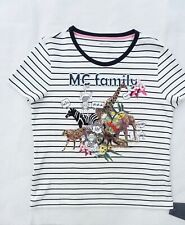 "MARC Cain Shirt mit Applikation ""MC Family""  Gr. N3 (38)  NEU m. Etik"