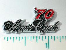 1970 Monte Carlo Pin  (Auto Pins)