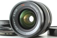 [Mint] Contax Carl Zeiss Distagon 28mm f/2.8 MMJ Lens C/Y Mount From JAPAN 682