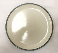 "Denby Blue Jetty Dinner Plate ""White"" - Brand New - Discontinued Item"