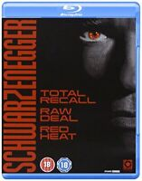 Schwarzenegger Collection (Total Recall/Red Heat/Raw Deal) [Blu-ray] [DVD]