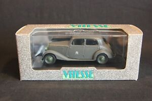 "Vitesse Mercedes-Benz 170 V Sedan 1939 ""Wehrmacht"" 1:43 #166.1 (JS)"
