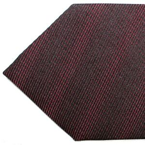 100% New Tom Ford Tie Burgundy Black Necktie Genuine 210194