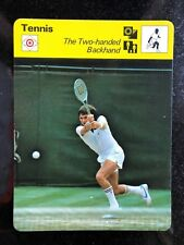 JIMMY CONNORS 1979 Sportscaster Card #59-18 TENNIS